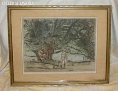 VARGA Nándor Lajos festő, grafikus, művészeti író
