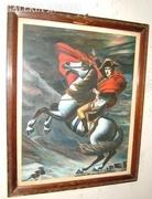 Ifj. Hernesz F: lovas vezér (olaj) 1938.
