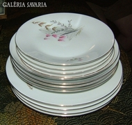 Csodás Hutschenreuther tányér - készlet 4+4+4db=12DB-os