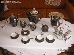 Bavaria Silber mokkás  és teás  készlet  megmaradt  tételek