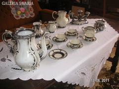 Bavaria Kávéskészlet 2 db gyertyatartóval