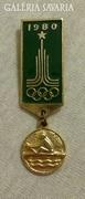 Moszkvai olimpiai jelvény