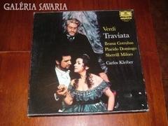 Verdi TRAVIATA olasz nyelven 2 lemez+füzet