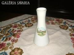 LILIEN porcelán BAD SCHALLERBAD Kurhaus városképpel