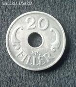 1941-es lyukas 20 fillér