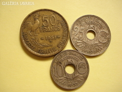 Francia érmék