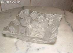 Olasz üveg tál