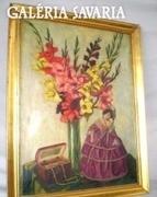 Thoma Paul - Barokk asztali Virágcsendélet