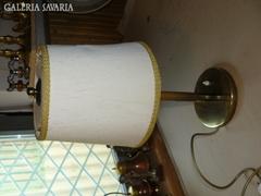 Sárgaréz ernyős asztali lámpa 50 cm