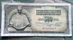500 Jugoszláv Dínár