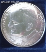 II. János Pál Pápa emlékérem! Postaköltség 0 Ft!!