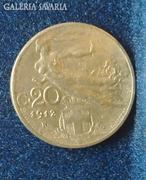 1912 Olasz 20 cent