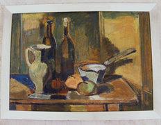 Sarkantyu Simon 60x80 cm olaj-farost