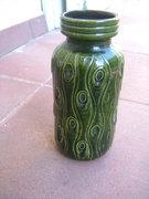 RETRO nyugatnémet sorszámozott kerámia váza