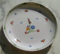 Graf Keramik Stoob - kézzel festett  fali kerámia tányér