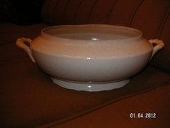 Zsolnay régi levesestál