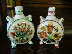 Zsolnay porcelán kulacsok (2db).