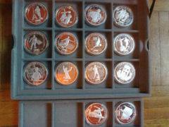 Hall of fame of football 2000 shilling ezüstérmék