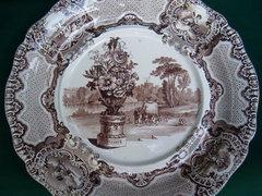 Copeland Spode 1800 körüli tál 34,5 cm
