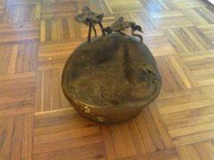 Bronz szobor /zsűrizett/Lakatlan sziget