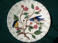 5 db antik Eichwaldi tányér a 19. századból