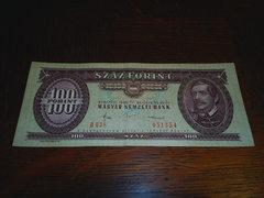 100 Ft - Száz forint - 1984. október 30.