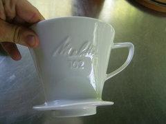 Melitta 702 - antik kávédarálóhoz való elem -