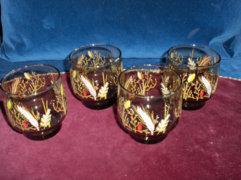 Üveg pohár - 4 db
