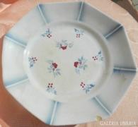 150 éves Sarreguemines antik Francia porcelán kínáló t