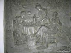 Gustave Grohe :ÓN-RELIEF,családi idil..XIX.Szd.
