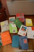 Zumstein, Michel és más bélyeg könyvek (egyben, 10 db)