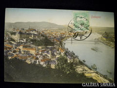 A159 R4 Budapest - Dunai látkép 1911