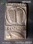 AE09 I5 Szolnoki bronz emlékplakett