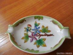 Herendi Porcelan zold szegelyu Victoria Kiralyno Jelzesu