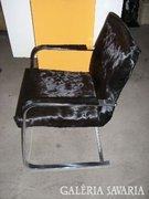 Lószőrrel huzott design retro iróasztali szék