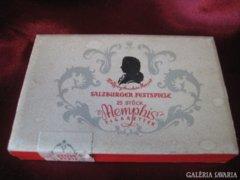 Memphis dohány & cigarettatartó papír doboz.