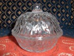 Régi üveg bonbonier kedvező áron