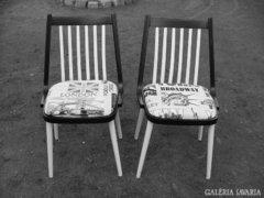 Felújított retro székek 2db