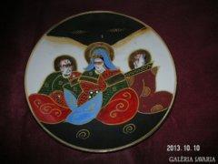 Japán  Antik  Porcelántányér