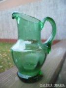 Antik Zöld Keresztelő Kancsó