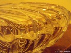 Kristályüveg doboz tetővel