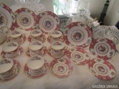 Fényűző Angol Porcelán Royal Albert Lady Carlyle étkés