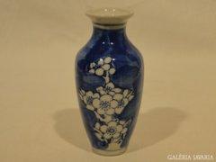 5442 Régi cseresznyefavirág mintás porcelán váza