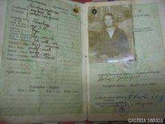 Magyar Királyi útlevél 1927