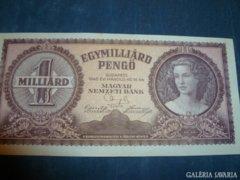 Egymilliárd Pengő - 1946.