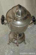 Szamovárra emlékeztető elektr.teafőző