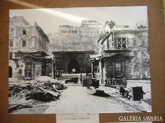 Budapest II.Világ háború -s vesztességei fotó sorozat