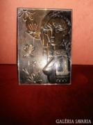 Mutatós réz falikép
