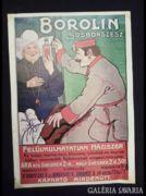 2037 C1 BOROLIN sósborszesz reklámplakát