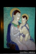 Búza Barnabás (Vésztő, 1910-2010) Madonna a gyermek Jézussal